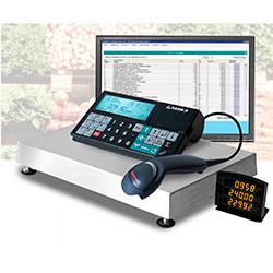 POS-система «Торговая точка» c весами-регистраторами